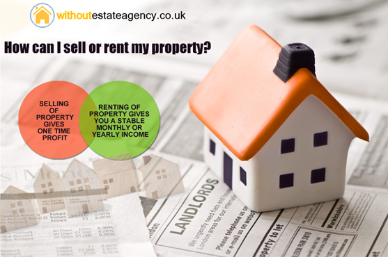 sell or rent my house